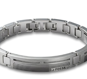 FOSSIL Armband JF84476040 Edelstahl silber
