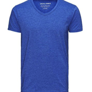 ACK & JONES Herren T-Shirt Basic V-neck