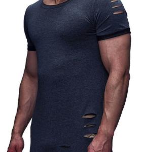 LEIF NELSON Herren oversize T-Shirt