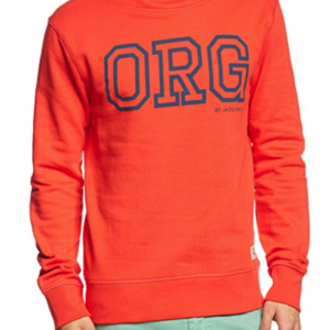 JACK & JONES Herren Kapuzenpullover RING SWEAT ORG PB