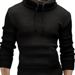 Merish Strickpullover Schalkragen Pullover Strickjacke Strick Slim Fit Herren 500