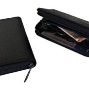 K.DESIGNS Premium Leder Portemonnaie