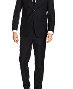 ESPRIT Collection Herren Anzug 125eo2m002 - mit Leichter Struktur