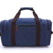 Aidonger Unisex Canvas und Leder Handtasche Weekender Reisetasche