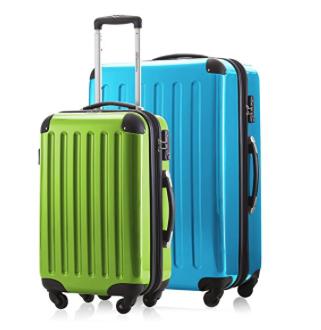 2er Kofferset Handgepäck + Reisekoffer in verschiedenen Farben von HAUPTSTADTKOFFER Ⓡ